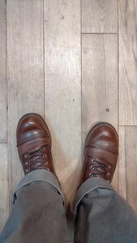 履き込むたびに育っていく - シューケアマイスター靴磨き工房 三越日本橋本店