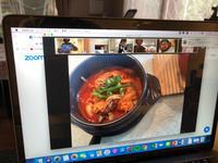 恵子先生のZOOM料理教室で韓国料理を習う - Coucou a table!      クク アターブル!