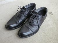 仕事用の革靴の底が剥がれたので補修 - 某の雑記帳