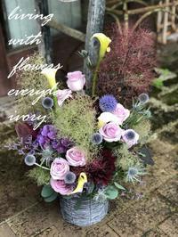 花贈りは〜♪ -  Flower and cafe 花空間 ivory (アイボリー)