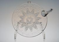 Baccarat Gravure Cut Plate With Hundle - GALLERY GRACE ギャラリーグレース BLOG