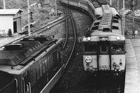 昔、機関区駅で出会った車輌達(40)土讃線 繁藤駅の交換 - 南風・しまんと・剣山 ちょこっと・・・