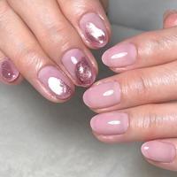 ピンク☆ドロリのサマーネイル! - 札幌駅近くのジェルネイルサロン☆nailedit:ネイルエディット