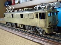 モケイ社ED71二次形足回り整備完了 - 新湘南電鐵 横濱工廠3