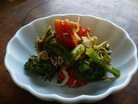 ブロッコリーとミニトマト、しらすの蒸し炒め - LEAFLabo