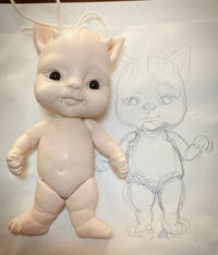 悪魔な子猫、トート君♪製作中〜♪^ ^ - rubyの好きなこと日記