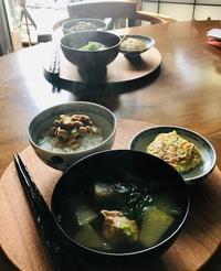 冬瓜スープと水無月 - 東京ベランダ通信