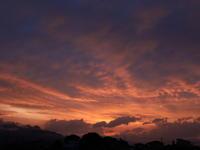 夕焼け (2020/7/1撮影) - toshiさんのお気楽ブログ