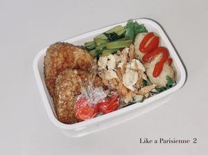 ■お弁当■  BIOマルシェの冷食が美味しい🤍 - パリジェンヌのように Vol.2