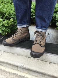 【PALLADIUM】梅雨に負けない!フランス軍も認めたスペック - Shoe Care & Shoe Order 「FANS.浅草本店」M.Mowbray Shop