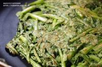 【ぎふベジ】春菊編~生地は作りません♪ 材料3つとワンボウルで出来る春菊のチヂミ。 - スパイスと薬膳と。