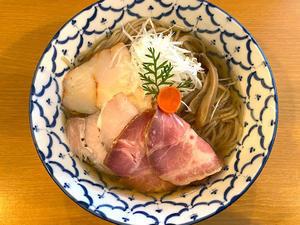 石川(野々市市):自家製麺 TERRA(テラ)「冷製塩煮干そば」 - きわめればスカタン