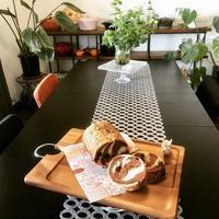 ショコラマーブルとワンプレート - カフェ気分なパン教室  *・゜゚・*ローズのマリ