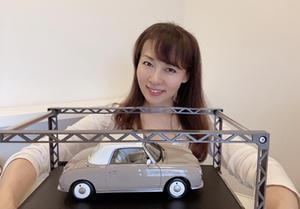 お部屋にも 麻弥愛車フィガロ(^^) 本物の方は、、、無事に車検から戻ってきました! - 鮎川麻弥公式ブログ『mami's talking』
