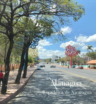 """""""生命の樹""""が立ち並ぶマナグア@ニカラグア - FK's Blog"""