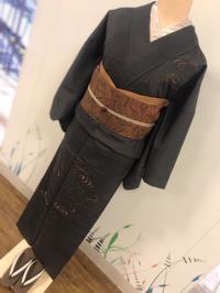 《アクア店》紬の附下コーディネート - MEDELL STAFF BLOG