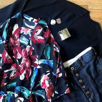 昨日の服~夫の買い物についていく~ - 晴れ好き女の衣生活メモ