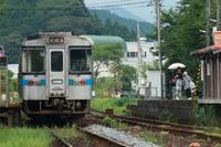 土讃線日下駅723D・726D - 南風・しまんと・剣山 ちょこっと・・・