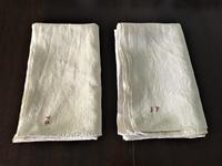 手織り厚手麻のテーブルクロス、もしくはシーツ323,324 - スペイン・バルセロナ・アンティーク gyu's shop