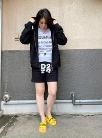 新作「DSQUARED2ディースクエアード」のロゴTシャツを使った夏コーデ♪ - UNIQUE SECOND BLOG