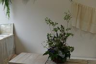 花器持ち込みレッスン - mille fleur の花日記