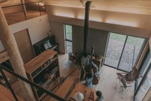 竣工時家族の写真 - Studio aula ツナグツナガル