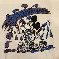 90's ミッキーペイントTシャツ 〜made in USA〜 - Clothing&Antiques Fun
