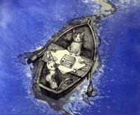 ネコ・テッパンー寺澤智恵子(銅版画) - ギャラリーびー玉ころころ日記 Gallery BI-DAMAS