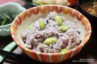 【ぎふベジ】えだまめ編②~夏の定番炊きこみご飯基本の枝豆(えだまめ)ご飯。 - スパイスと薬膳と。