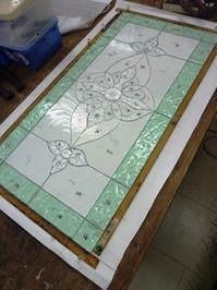 パネルも続々 - atelier GLADYS  ステンドグラス工房 作り手の日々