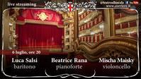 再開!ミラノ・スカラ座「コンサートがストリーミングで楽しめる、ぞ!」 7月6日から  イタリア ~ Teatro alla Scala ~ - 『ROMA』ローマ在住 ベンチヴェンガKasumiROMAの「ふぉとぶろぐ♪ 」
