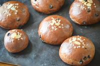 チョコクリームパンとチーズケーキ - ゆずぱん日記