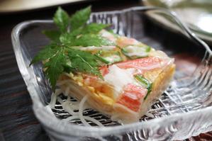 七夕の「素麺寄せ」 - 登志子のキッチン