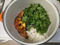 葉っぱで緑のスープ・・・カボチャ入り♪ - 化学物質過敏症・風のたより2