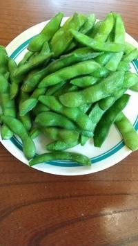 ヒットなおつまみ♡豊作な枝豆( *´艸) - hatsugaママのディズニー徒然と日常いろいろ