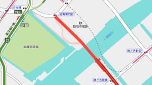 環状第2号線(築地)地上部道路の様子 - 俺の居場所2