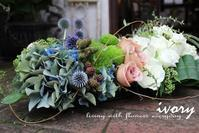 『IVORY 花教室 7 July開催です~♬』 -  Flower and cafe 花空間 ivory (アイボリー)
