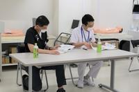 災害研修~研修支援者の様子~ - 長崎大学病院 医療教育開発センター  医師育成キャリア支援室
