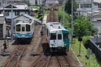 土佐くろしお鉄道514D窪川駅到着 - 南風・しまんと・剣山 ちょこっと・・・