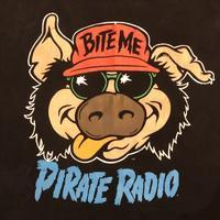 "90's ""BITE ME"" PIRATE RADIO 〜made in USA〜 - Clothing&Antiques Fun"