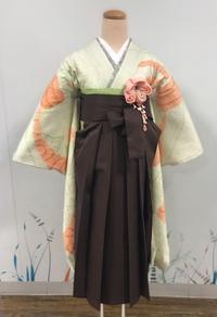 《アクア店》総絞りの着物で袴コーディネート - MEDELL STAFF BLOG
