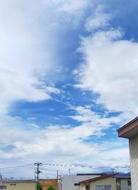 20200708 【今日の天気】大雨警報なのに青空が広がって - 杉本敏宏のつれづれなるままに