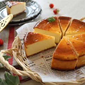 ベイクドチーズケーキ - おうちカフェ*hoppe