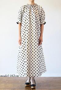 leur logette(ルールロジェット)のドットジャガードドレス - jasminjasminのストックルーム