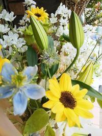 ひまわりの花束💐 - ブランシュのはなたち