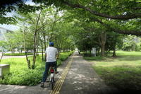 シンボルプロムナード公園 - 絵を描きながら