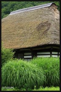 水引集落   (南会津町舘岩地区) - キルトとステッチ時々にゃんこ