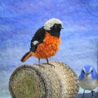 毛糸のポンポンで野鳥 - yae*のアトリエ