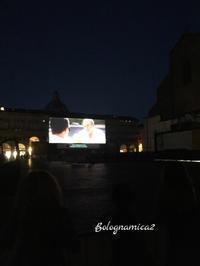 夜散歩と今年も野外映画開催 - ボローニャとシチリアのあいだで2