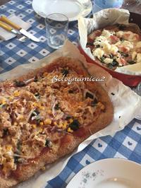 全粒粉ピザと出来損ないベーコンエピ - ボローニャとシチリアのあいだで2